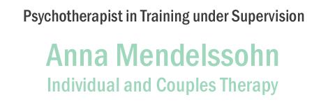 Mendelssohn Psychotherapy